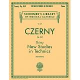 Czerny Op. 849 - Thirty New Studies in Technics