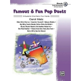 Famous & Fun Pop Duets Book 4 (Early Intermediate) (UK Exam Grade 2)