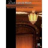 Dan Coates Popular Piano Library: Duets from the Movies (Intermediate to Late Intermediate)