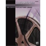 Dan Coates Popular Piano Library: Favorite Movie Solos (Advanced)