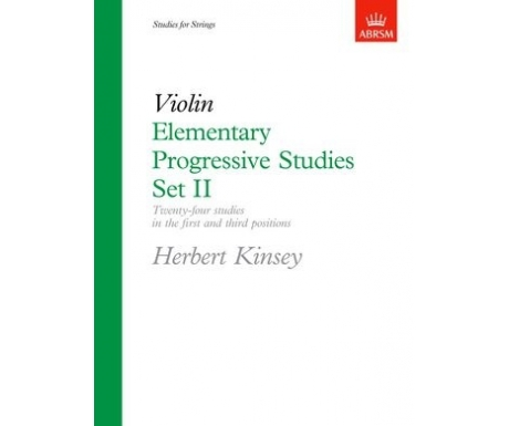 Violin Elementary Progressive Studies Set II
