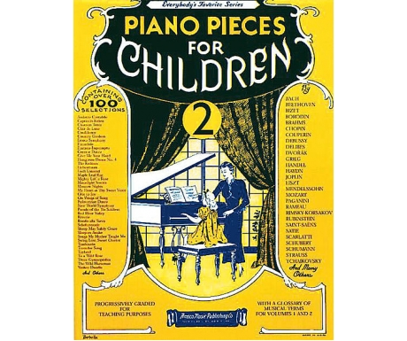 Piano Pieces for Children 2 (Everybody's Favorite Series)