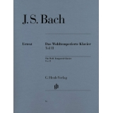J. S. Bach: Das Wohltemperierte Klavier Teil II (The Well-Tempered Clavier Part II)