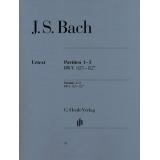 J. S. Bach: Partiten 1-3 BWV 825-827 (Partitas 1-3 BWV 825-827)