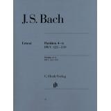 J. S. Bach: Partiten 4-6 BWV 828-830 (Partitas 4-6 BWV 828-830)