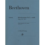 Beethoven: Klaviersonate Nr. 5 c-moll Opus 10 Nr. 1 (Piano Sonata no. 5 in c minor op. 10 no. 1)