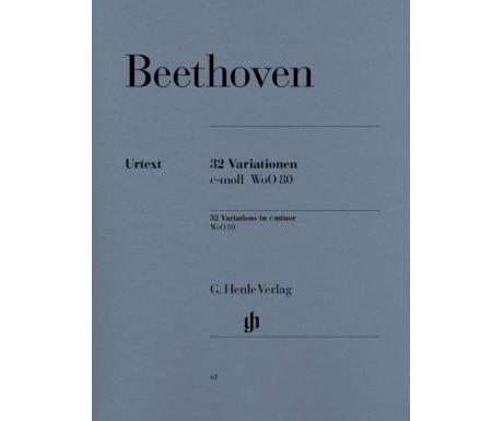 Beethoven: 32 Variationen c-moll WoO 80 (32 Variations in c minor WoO 80)