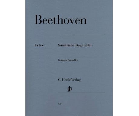 Beethoven: Sämtliche Bagatellen (Complete Bagatelles)