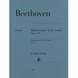 Beethoven: Klaviersonate Nr. 27 e-moll Opus 90 (Piano Sonata no. 27 in e minor op. 90)