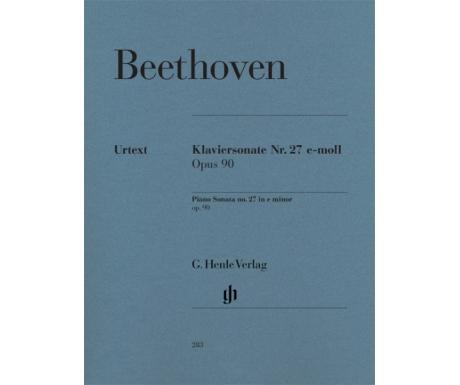 Beethoven: Klaviersonate Nr. 27 e-moll Opus 90 (Piano Sonata no. 27 in e minor op. 90)