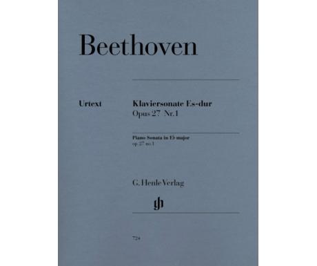 Beethoven: Klaviersonate Es-dur Opus 27 Nr.1 (Piano Sonata in E♭ major op. 27 no.1)