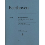 Beethoven: Klaviersonaten Nr. 9 E-dur ∙ Nr. 10 G-dur Opus 14 (Piano Sonatas op. 14 no. 9 in E major ∙ no. 10 in G major)