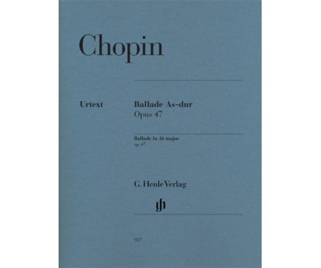 Chopin: Ballade As-dur Opus 47 (Ballade in A♭ major op. 47)