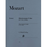 Mozart: Klaviersonate F-dur KV 332 (300k) (Piano Sonata in F major K. 332 (300k))