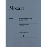 Mozart: Klaviersonate B-dur KV 333 (315c) (Piano Sonata in B♭ major K. 333 (315c))