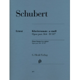 Schubert: Klaviersonate a-moll Opus post. 164 ∙ D537 (Piano Sonata in a minor Opus post. 164 ∙ D537)