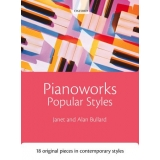Pianoworks Popular Styles - 18 Original Pieces in Contemporary Styles