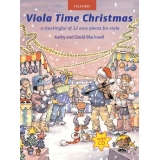 Viola Time Christmas: A Stockingful of 32 Easy Pieces for Viola (with CD)