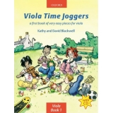 Viola Time Joggers Viola Book 1: A First Book of Very Easy Pieces for Viola (with CD)
