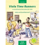 Viola Time Runners Viola Book 2: A Second Book of Easy Pieces for Viola (with CD)