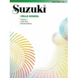 Suzuki Cello School Volume 3: Cello Part (Revised Edition)