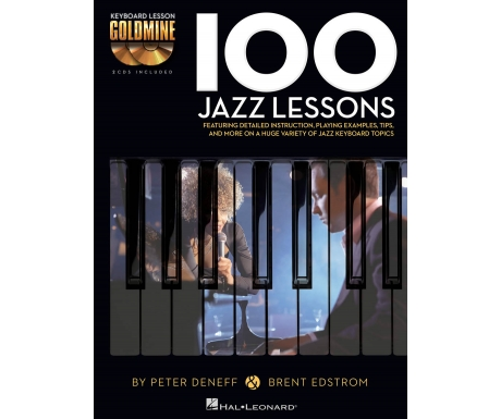 Keyboard Lesson Goldmine: 100 Jazz Lessons (with CD)
