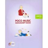 Poco Music Manuscript Book (Mozart)