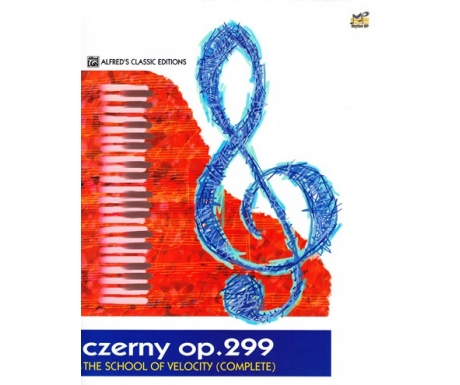 Czerny Op. 299 - The School of Velocity (Complete) (Alfred's Classic Editions)