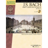 J. S. Bach: First Lessons in Bach - 28 Pieces (Schirmer Performance Editions with CD)