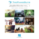 The Piano Guys - Simplified Favorites: Vol. 1 (Easy Piano/Optional Cello)