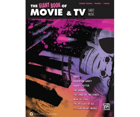 The Giant Book of Movie & TV Sheet Music (Piano Solos/Piano/Vocal)