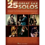 25 Great Sax Solos (with CD)