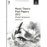 Music Theory Past Papers 2013 Model Answers ABRSM Grade 7