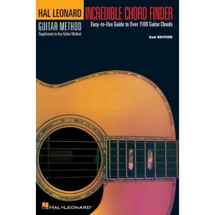 Hal Leonard Guitar Method Incredible Chord Finder Easy To Use