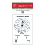 Alfred's Key Signature Teacher All-in-One Flashcard (White)