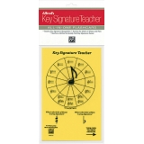 Alfred's Key Signature Teacher All-in-One Flashcard (Yellow)