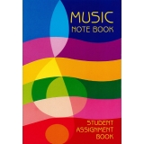 Music Note Book - Student Assignment Book