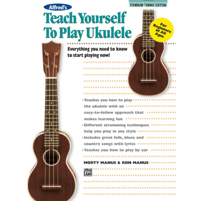 alfred 39 s teach yourself to play ukulele standard tuning edition. Black Bedroom Furniture Sets. Home Design Ideas